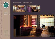 small bar in arabic restaurant