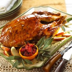 Holiday Roast Goose is a family Chistmas favorite in our home