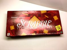 Scrabble By Milton Bradley With A French Box And Instructions - 'Scrabble,  Jeu…