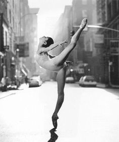 ballet is strength disguised in beauty