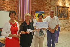 Le Lions Club du Soler fait un don au CCAS