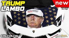 Donald Trump Lamborghini, Camaro ZL1, FWD Chrysler 300, Nissan buys Mits...