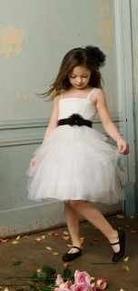 Seahorse Style 43316 Flower Girl Dress in Ivory