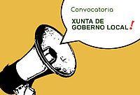 Convocatoria de Sesión extraordinaria e urxente da Xunta de Goberno Local…