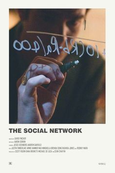 The Social Network alternative movie poster