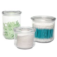 The Container Store > Acrylic Bath Canisters...lego storage!  can't wait. the price is great on these.