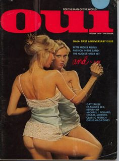 Oui Magazine October 1973 VG Good Readers Copy by JamesVintageJunk