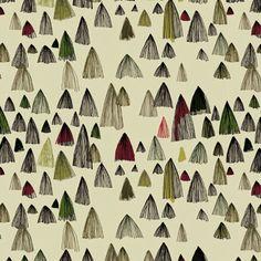 Long Hair Mountains pattern by @Marina Molares