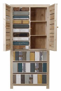 Cabinet/cupboard made from scrapwood.