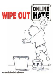 wipe out online hate...UNITED
