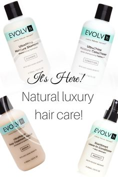 EVOLVh Hair Care is now available at BeauTeaBar.com  Salon tested and BeauTea approved. A complete natural luxury hair care line for all of your hair care needs. Completely transforms your hair after just one week of use.
