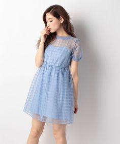 Jill Stuart CAGY LACE ORGANZY Dress on ShopStyle