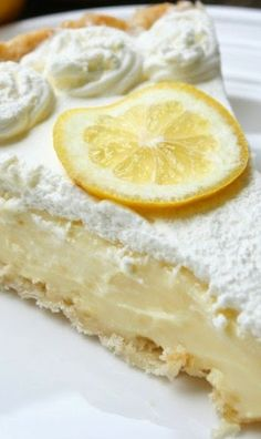 Lemon Sour Cream Pie