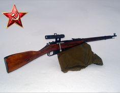 Mosin Nagant PU sniper 1943 ww2 - Soviet Red Army | Flickr - Photo ...