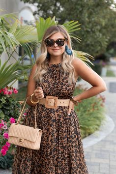 Classy Outfits, Chic Outfits, Summer Outfits, Fashion Outfits, Leopard Print Outfits, Leopard Fashion, Beautiful Summer Dresses, Pretty Dresses, Curvy Fashion Summer