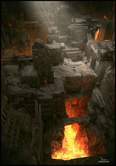 ArtStation - Underworld, Dragos Jieanu