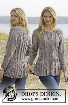 Alana Cardigan by Drops Design.  Free knitting pattern