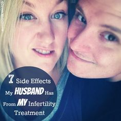 """Bahaha. Yup. I was mean on Clomid. 7 Side Effects My Husband Experienced With My 1st Round of """"CloMAD"""" aka Clomid.  #infertility #ttc humor!"""
