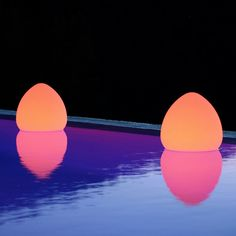 Light in the Dark - waterproof, wireless, energy-efficient way to make your pool party last well into the evening.