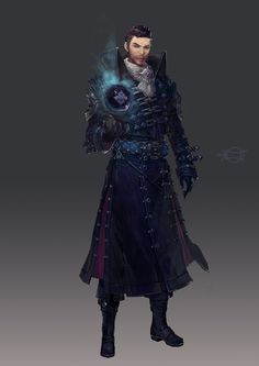 By gyuchang park Fantasy Character Design, Character Concept, Character Inspiration, Character Art, Elf Characters, Dungeons And Dragons Characters, Fantasy Characters, Dnd Art, Fantasy Male