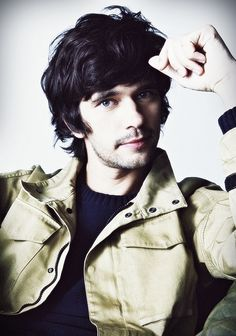 Ben Whishaw ~ my choice for 12th Doctor. I'd faint with excitement if Tom got it, but this guy just has the right look to me. I think he would be perfect.