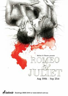Romeo & Juliet PosterRomeo & Juliet PosterThis student project asked for us to create a poster for a Belvoir St Theatre production of Romeo & Juliet.