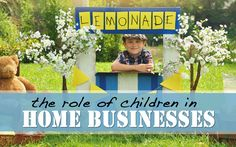 The Role of Children in Home Businesses - Molly Green Magazine Blog ! Come by for a visit!  Biblical attitudes towards work.