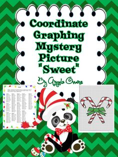 Pin by Mikes Math Market on Christmas Coordinate Graphs  Pinterest