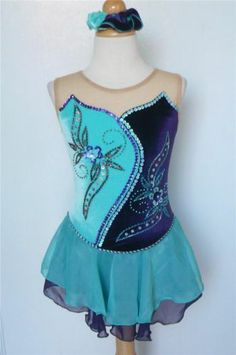 Kim Competition Ice Skating Dress Dance Child 8 | eBay