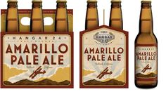 Hangar 24 Craft Brewery- Amarillo Pale Ale (5.5% ABV) a nice go at the pale ale variety from the crew in Redlands. Go ahead and pronounce the name right though...you gotta roll the L...