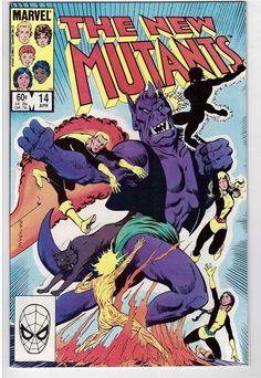 The New Mutants #14 April 1984 Marvel Comic Book First Appearance Magik Mandrake