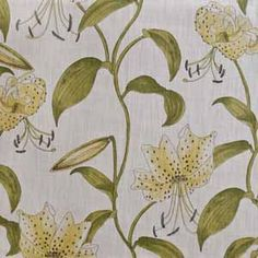 Hertex Fabrics, Stargazer Lilies, Vine Design, Stargazing, Harvest, Vines, Lily, Curtains, Blinds