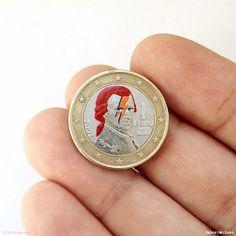 Des pièces de monnaie pop-culture!