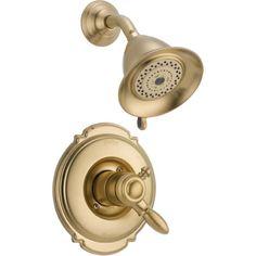 Delta Victorian Pressure Balanced Diverter Shower Faucet Trim with Lever Handles…