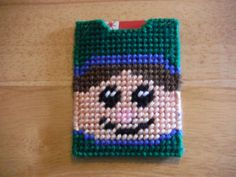 Elf Gift Card Holder   Plastic Canvas by ShanaysCreation on Etsy, $3.50