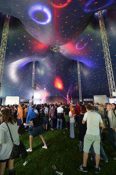 Parklife festival - Manchester #tent #stage