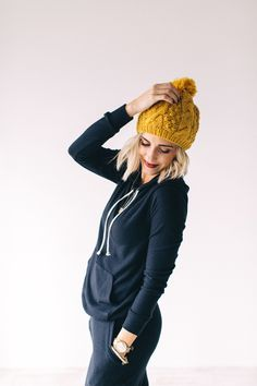 Game Changer Sweatsuit in Black | ROOLEE