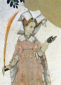 The Nine Worthies, detail of Teuta, c.1418-30