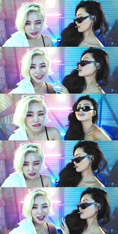 Died @ this part 😍💀😍 Wheein y hwasa Kpop Girl Groups, Korean Girl Groups, Kpop Girls, K Pop, Wheein Mamamoo, Girl Inspiration, Ulzzang Girl, King Queen, K Idols
