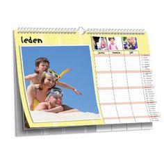 Activity planner 3R - nástěnný fotokalendář NKN-55-A4 nástěnný foto-kalendář 2017 | KALVOS.cz