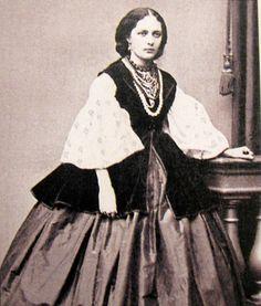 Пані з Полтави 1850-ті роки