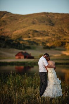 Steamboat Springs Wedding Pictures, Bride and Groom