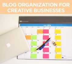 Blog organization for creative businesses, Dannielle Cresp of Style for A Happy Home