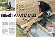Pihapatio puusta pihatasoon, maksullinen artikkeli