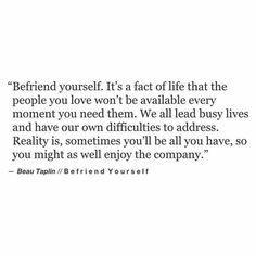 Beau Taplin | Befriend Yourself