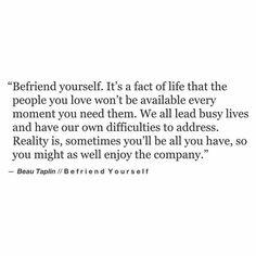 Beau Taplin | Befriend Yourself