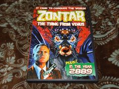 Zontar, the Thing from Venus / In the Year 2889 (DVD, 2009) Rare OOP John Agar!