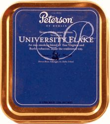 Peterson University Flake Pipe Tobacco Tin