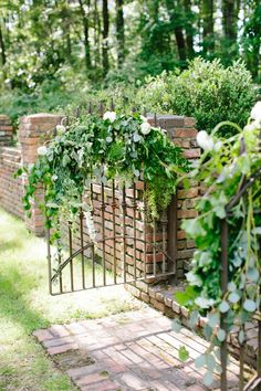 pretty garden gate | Lauren Carnes