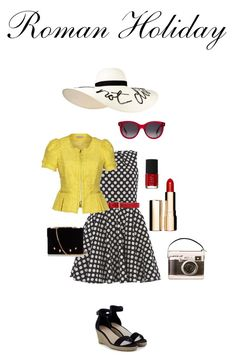 Rome by maddypenny on Polyvore featuring polyvore, fashion, style, Closet, Nina Ricci, Marco de Vincenzo, Eugenia Kim, Alexander McQueen, Gucci, Clarins, NARS Cosmetics and clothing